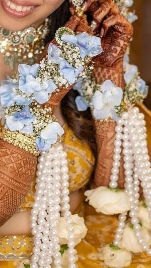 Brides Who Wore Pretty Floral Kaleeras