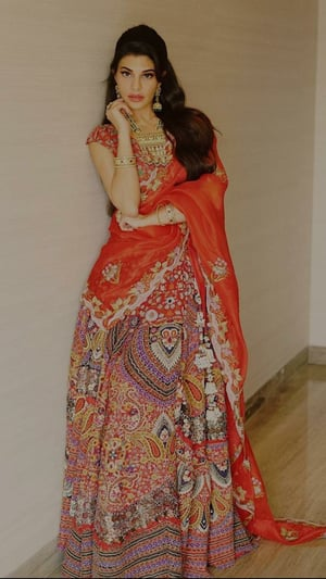 Jacqueline Fernandez In 10 Traditional Outfits
