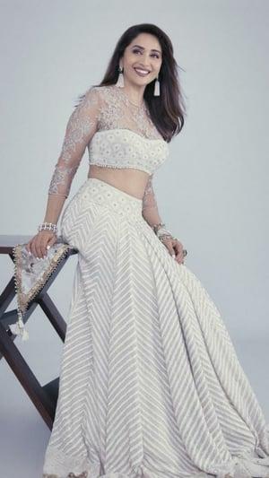 Madhuri Dixit's Stunning Designer Lehengas