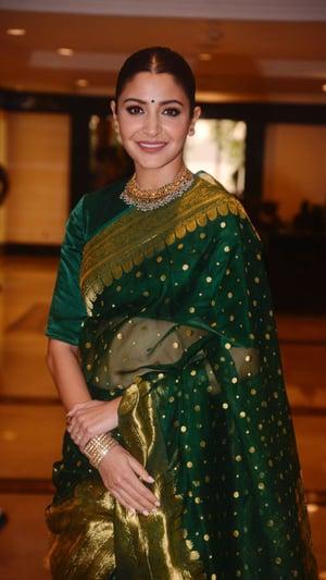 Anushka Sharma In Gorgeous Sarees