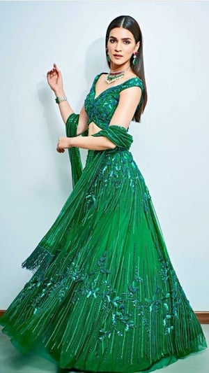 Kriti Sanon's Gorgeous Lehenga Looks