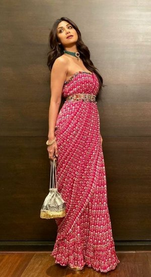 Shilpa Shetty's Stunning Saree Looks
