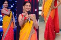 Madhuri Dixit saree looks