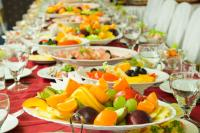 Healthy wedding menu