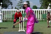 cricket match at indian wedding
