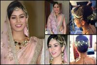 mira rajput wedding look detail description