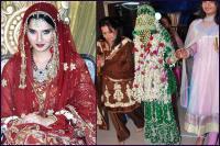 ethnic muslim nikah bridal look details- BollwyoodShaadis
