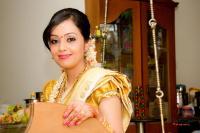 ethnic malyali wedding bridal look details- BollwyoodShaadis