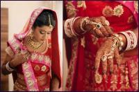 ethnic marwari wedding bridal look details- BollwyoodShaadis