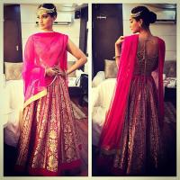 Image Credit: Sonam Kapoor wearing Rohit Bal dress (Instagram)