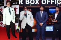 amitabh bachchan at star box office indian awards 2014