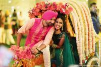 Harbhajan Singh and Geeta Basra Wedding Pictures