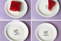 Hide the Pregnancy message with in food plates