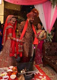Dimple Jhangiani wedding