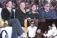 Sharmila Tagore and Mansoor Ali Khan