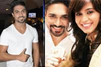 Salman Yusuf Khan with wife Faiza