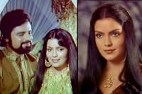 Zeenat Aman and Sanjay Khan