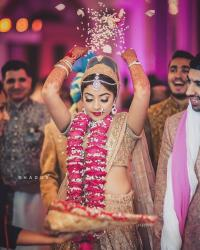 Indian Bride's Vidaai