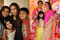 Rani Mukerji and Jyoti Mukherjee