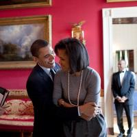 Barack  Obama and Michelle Moments of Love