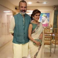 Bijay Anand and Sonali Khare