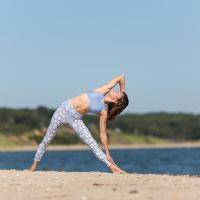 Triangle Pose To Loose Post Pregnancy Weight