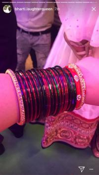 bharti singh bangle ceremony