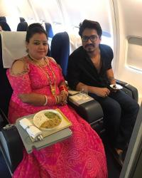 Bharti Singh Look While She Visits Her In-Laws