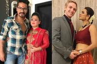 Bharti-Haarsh And Aashka-Brent Wedding