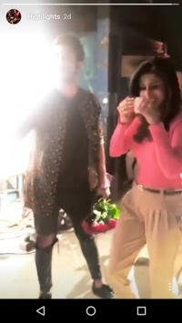 Suyyash and Kishwer Anniversary Surprise