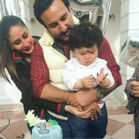 Taimur's First Birthday Celebration Pictures