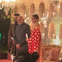 Virat And Anushka Reception
