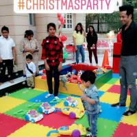 Tusshar Kapoor Christmas Party