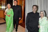 Suresh Oberoi with wife