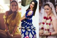 Famous Celebs Beautiful Wedding Outfit In 2017