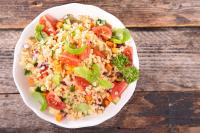 Mediterranean quinoa salad diet to weight loss fast