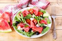 Watermelon diet salad recipes for vegetarian