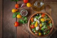 Greek salad - Vegetable salad recipes for diet
