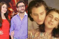 Kareena Kapoor Khan, Amrita Singh and Saif Ali Khan