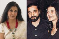 Kamal Haasan with Sarika and Vani Ganapathi