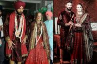 Celeb Couples Who Colour Coordinated Their Wedding Outfits