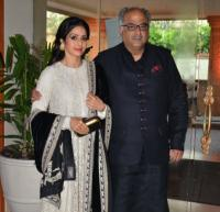 Sridevi and Boney Kapoor