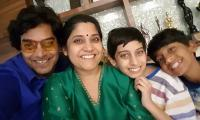 Ashutosh and Renuka with kids