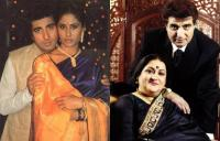 Raj Babbar and Smita Patil