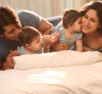 Karanvir and Teejay with their daughters
