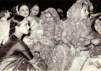 Rekha at Rishi Kapoor and Neetu Singh's wedding