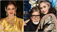 Rekha, Amitabh and Jaya