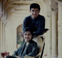 Sourav Ganguly with wife Dona