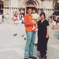 Sourav Ganguly with family