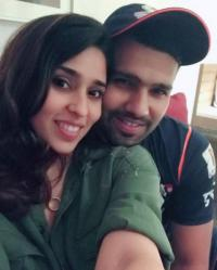 Ritika and Rohit Sharma